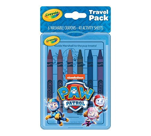 Crayola Paw Patrol Coloring Kit, Travel Activity, Gift for Kids, Ages 3, 4, 5, - Set Gift Crayola Activity