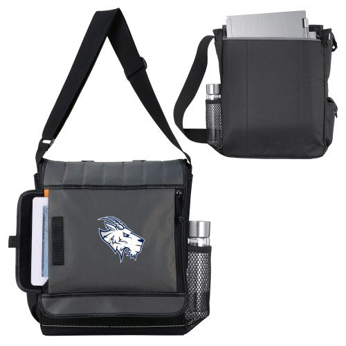 Amazon.com   St Edwards Impact Vertical Black Computer Messenger Bag   Primary Mark    Sports   Outdoors 0d8e0c83a5320