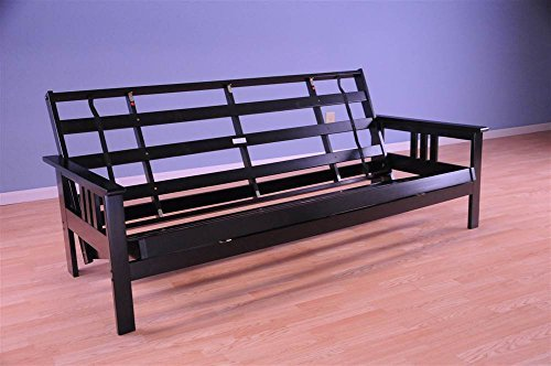 - Monterey Futon Frame in Black Finish