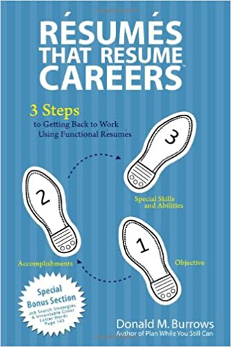 Resumes That Resume Careers 3 Steps To Getting Back To Work