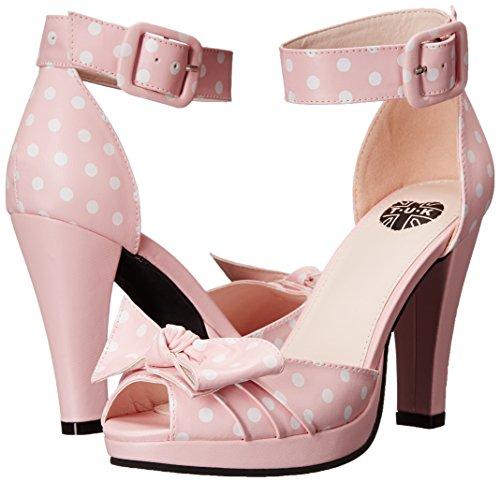 Dot Femme Peep A9024l Nu Pink pied Rose k u Fantaisie Starlet T qxHt1wH
