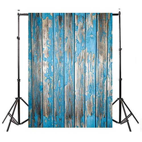 Nufelans 3x5ft Seamless Photography Background Wooden Floor Photo Backdrop Paper Booth Props for Birthday Wedding Festival Party Valentine's Day Decorations (G)