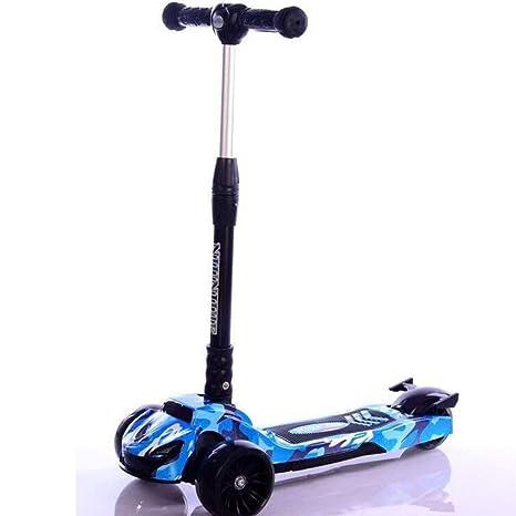Yunfeng Patinete Niños Los niños Pedal Plegable Scooter con ...