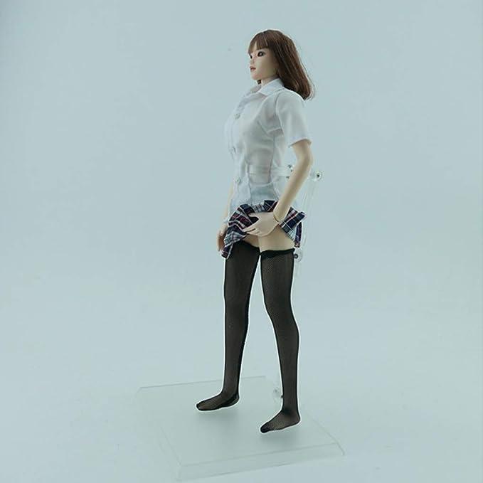 Amazon.es: sharprepublic Miniatura Camisa Blanca y Falda a Cuadros ...
