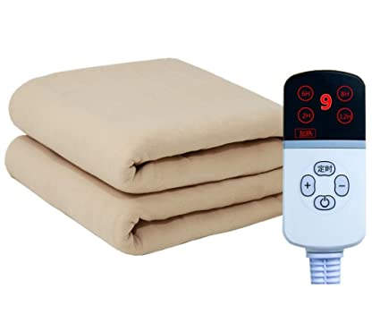 HUYYA calienta Manta electrica, calienta Camas Seguro y cálido Mantas electricas para Camas -Premium