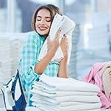 Qute Home 4-Piece Bath Towels Set, 100% Turkish