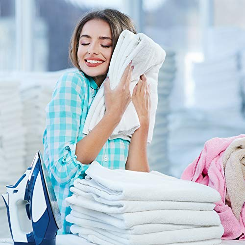 Qute Home 4-Piece Hand Towels Set, 100% Turkish Cotton Premium Quality Towels for Bathroom, Quick Dry Soft and Absorbent Turkish Towel Perfect for Daily Use, Set Includes 4 Hand Towels (White)