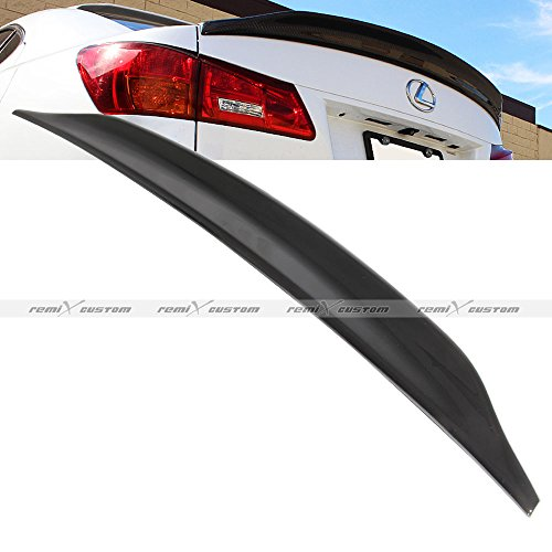 2006 - 2012 Lexus IS250 / IS350 ABS Glossy Black Paint Duck Tail Spoiler Lip Wing