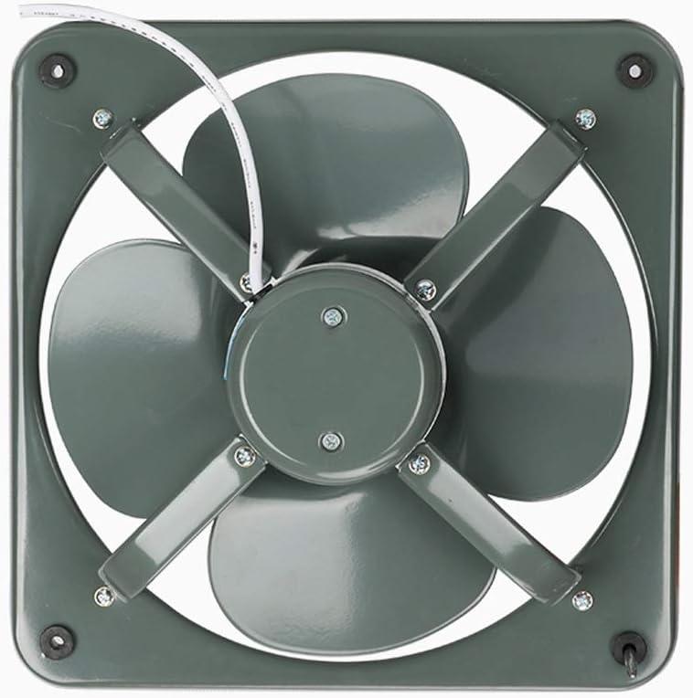 Ventilador de ventilación doméstico Escape Industrial Extractor De Humo De Escape De Cocina Ventilador Fuerte Silencio del Hogar De 10 Pulgadas Ventilador De Ventilación LITING