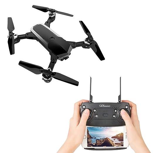 JDRC WiFi FPV RC Quadcopter - Drone plegable de 4 canales 6 ejes 2 ...