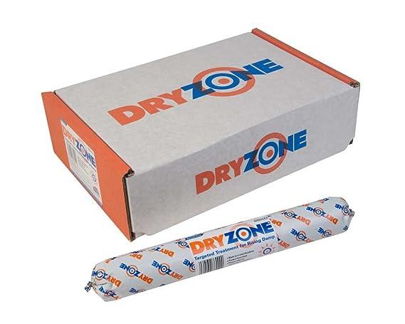 600 ml - 10 Dryzone de caja kit.unit - humedad tratamiento - DPC - curso de prueba húmeda crema: Amazon.es: Bricolaje y herramientas