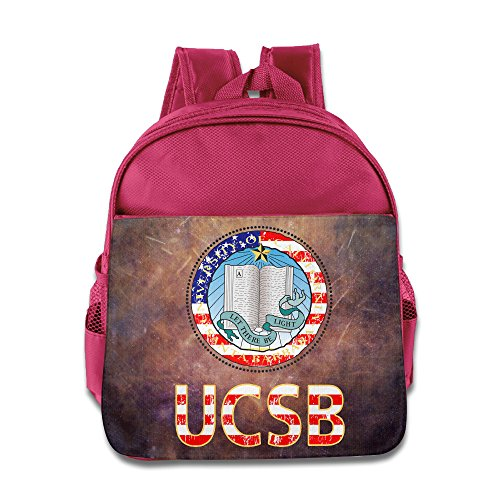 Price comparison product image Custom UCSB Superb Boys And Girls Shoulders Bag For 1-6 Years Old Pink