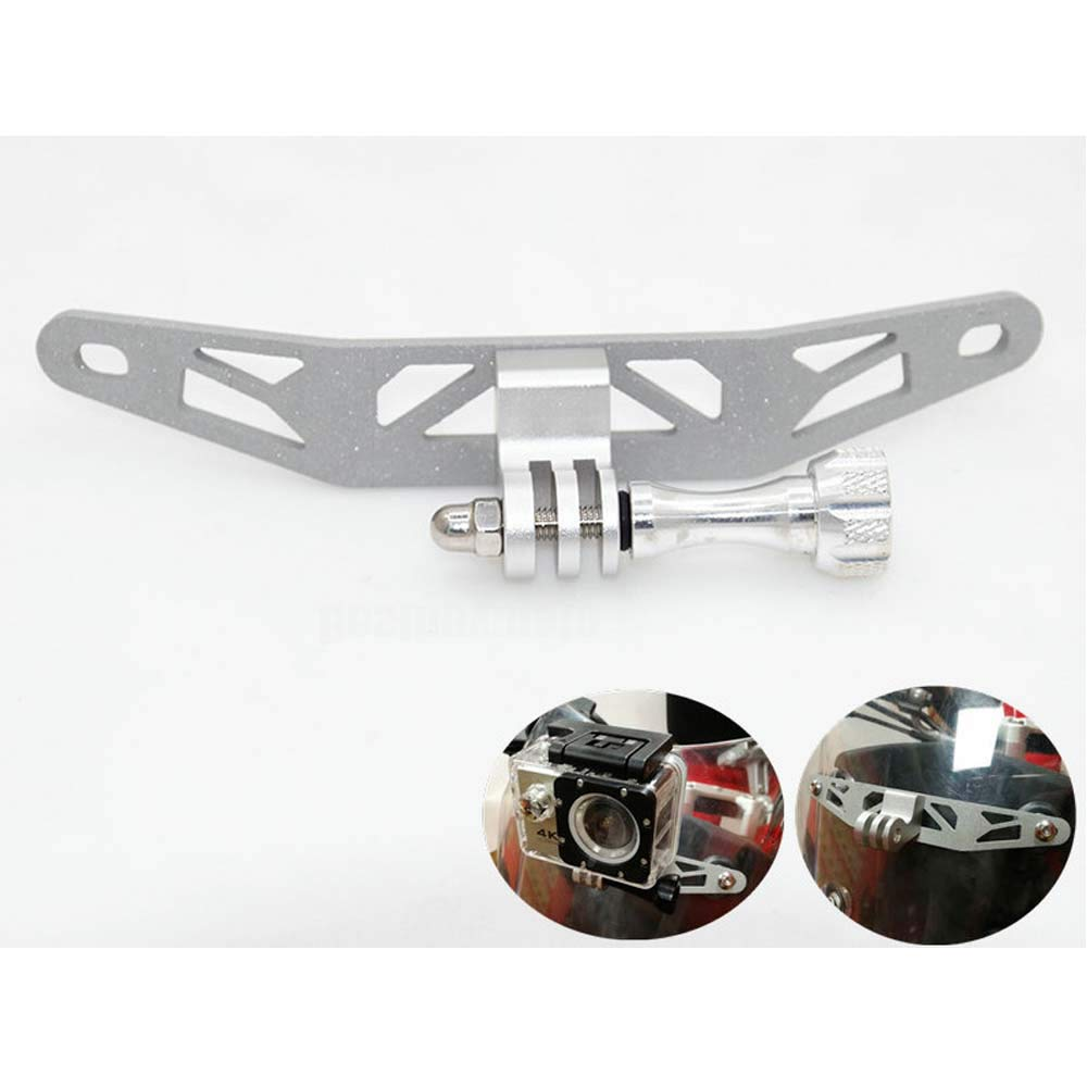 Motorcycle Camera Recorder Holder Bracket for GoPro Camera For BMW G310GS 2017-ON (Silver)