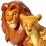 Enesco Jim Shore Disney Traditions Simba and Nala