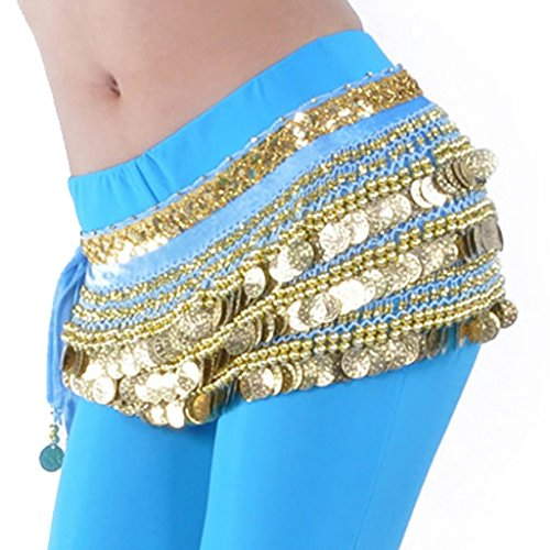 Pilot-trade Lady's Belly Dance Wrap Hip Scarf Belly Dancing Skirt