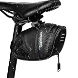 Winkeyes 1.6L Bicycle Saddle Bag, Waterproof Bike Pack, Cycling Mountain Road MTB Back Seat Bike Pouch, Bicycle Repair Tools Accessories with Reflective Stripes