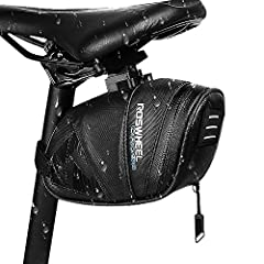 Winkeyes MTB saddle bag is hard wedge shell, well made of high duty nylon material, very durable and anti-deformation. Its wax technique makes this kind of road bike bag rainproof and mud proof to keep bicycle accessories inside very dry. Wh...