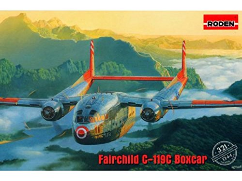 C119 Flying Boxcar - Roden Fairchild C-119C