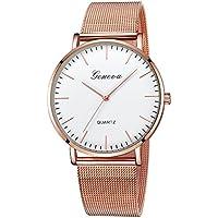 ManxiVoo Women's Dress Watches Luxury Stainless Steel Band Analog Quartz Bracelet Watch for Ladies