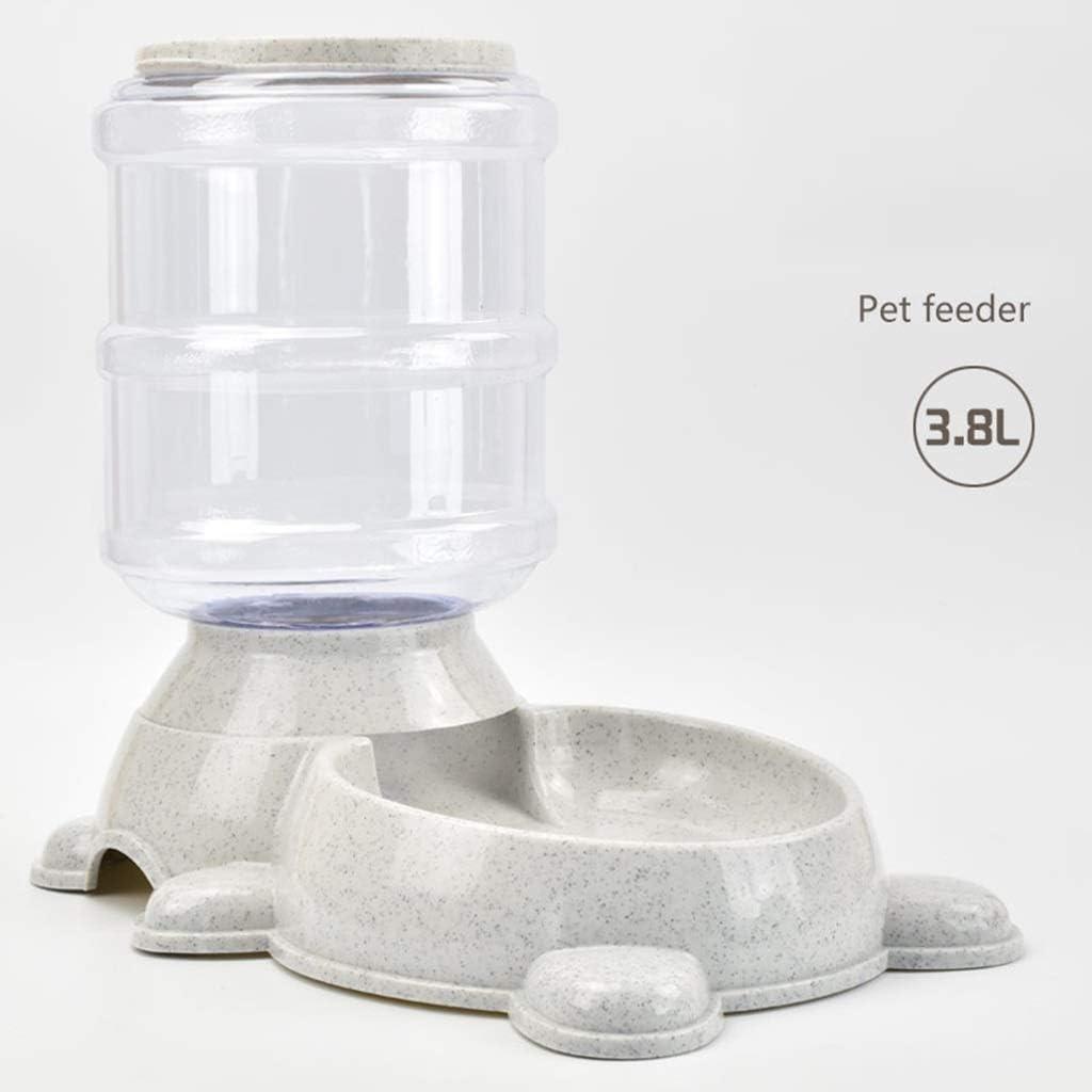 ZLPER Dispensador del alimentador de agua for mascotas, bebedero automático for mascotas, alimento for agua for perros, estación de dispensador de agua for mascotas, fuente de agua por gravedad automá