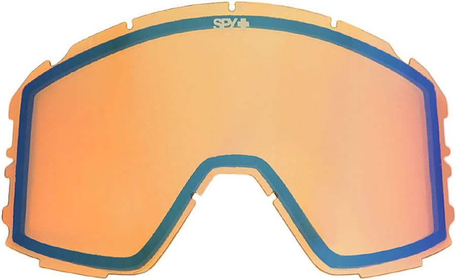 Spy Optic Raider Snow Goggles, Persimmon Contact Lens
