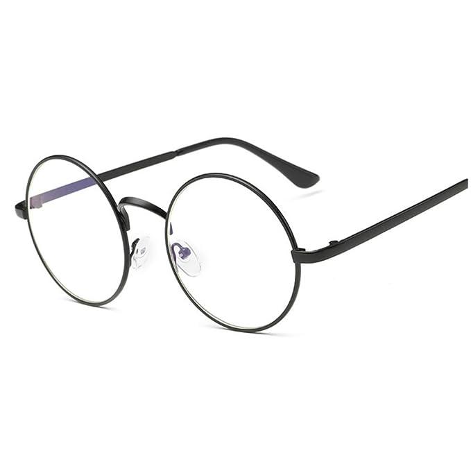 Amazon.com: Lovef - Gafas de sol grandes con marco de metal ...