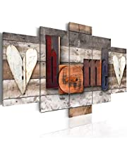 5 piece Modern Abstract Canvas Art Wall Decor Artwork Picture Oil Painting for Bedroom Living Room Bathroom Office Home Decoration