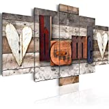living room decoration ideas -5 Piece Modern Abstract Canvas Art Wall Decor Artwork Picture Oil Painting for Bedroom Living Room Bathroom Office Home Decoration