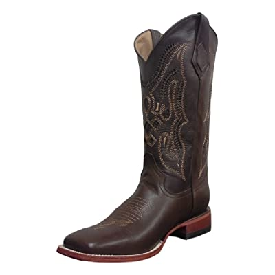 Ferrini Men's Cowhide Brown Leather Boots   Boots