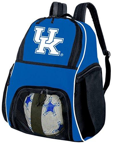 (Broad Bay University of Kentucky Soccer Ball Backpack Kentucky Wildcats Volleyball Bag Travel)