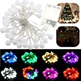 Best Spritech Night Lights - 4M 40 LED Battery Powered Colorful Ball Fairy Review