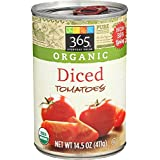 365 Everyday Value Organic Diced Tomatoes, 14.5 oz
