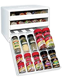 Bargain 3 Drawer Pull Out And Lower To Display Spice Organizer compare