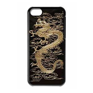 Gothic Dragons Pattern Hard Plastic Back Phone Case for Iphone Case 5C HSL391866