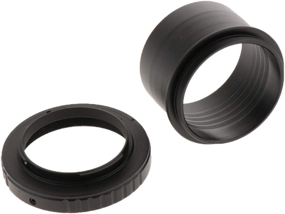 Black 2inch to T2 M420.75 Thread Telescope Mount Adapter Baosity T Ring for Sony SLR Camera Lens