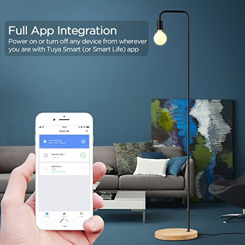 SHOPUS | Smart Plug, Wi-Fi Enabled Mini Smart Outlet Work