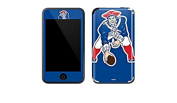 Amazon.com  NFL New England Patriots iPod Touch (1st Gen) Skin - New  England Patriots Retro Logo Vinyl Decal Skin For Your iPod Touch (1st Gen)   Electronics 6f995982d