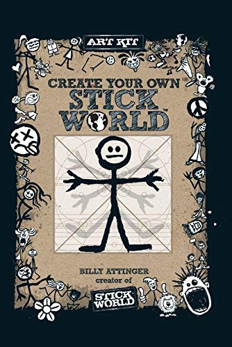 Create Your Own Stick World Kit: Includes technique book, pens,  and 80 page drawing journal!