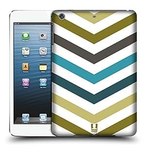 Head Case Designs Cucumber Patch Chevron And Arrows Hard Back Case for Apple iPad mini 1 / 2 / 3