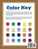 Color by Number Large Print Adult Coloring