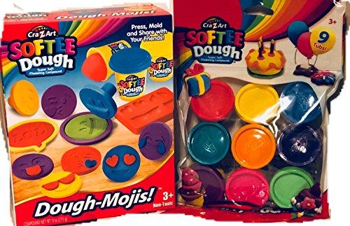 Refill Dough (Emoji Softee Dough and Refill set)