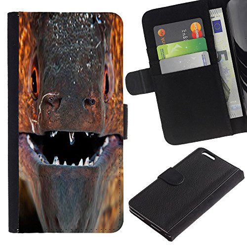OMEGA Case / Apple Iphone 6 PLUS 5.5 / FORGET THE PAST / Cuir PU Portefeuille Coverture Shell Armure Coque Coq Cas Etui Housse Case Cover Wallet Credit Card