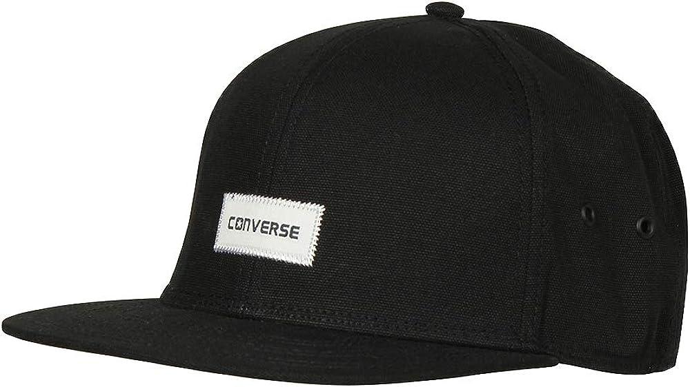 Converse Sombrero de gorra de b¨¦isbol de algod¨®n negro Charles ...