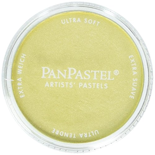 Colorfin PanPastel Pearlescent Artist Pastels, 9ml, Yellow