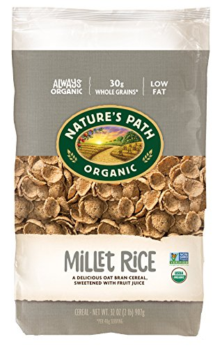 c Cereal, Millet Rice Sweetened with Fruit Juice, 32 Ounce Bag (Pack of 6) ()