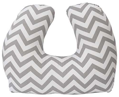 Jolly Jumper Baby Sitter Cushion, Chevron Grey, One Size
