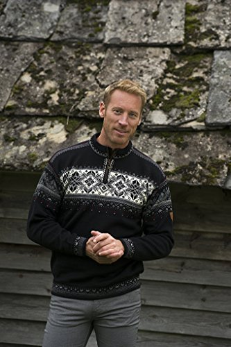 light Charcoal White Smoke Men's Blyfjell Dale off Norway Charcoal dark Sweater Of wvqRxWZS4H