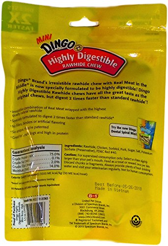 Dingo-Highly-Digestible-Mini-Dental-Treats-Long-Lasting-Chews-2-Bags