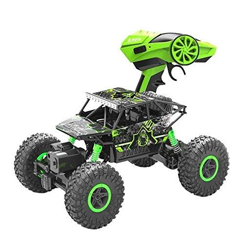 AIOJY Fernbedienung Geländewagen mit Vierradantrieb High-Speed-Big Foot Climbing Racing RC Kinder Lade Toy Boy drahtlose…