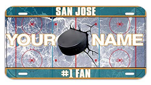 Bleu Reign Personalized Custom Name Hockey Team San Jose 12